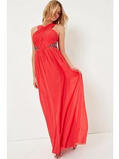 little-mistress-red-embellished-maxi