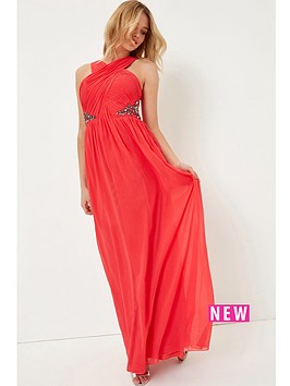 little-mistress-red-embellished-maxi
