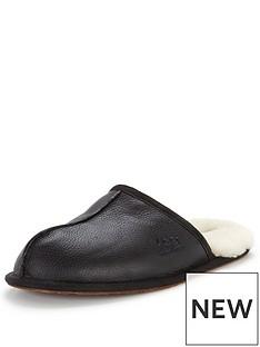 ugg-scuff-leather-slipper