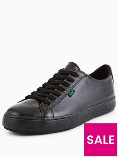 kickers-tovni-lacer-leather-plimsoll