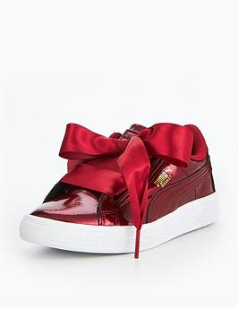 puma-basket-heart-glam-childrens-trainer
