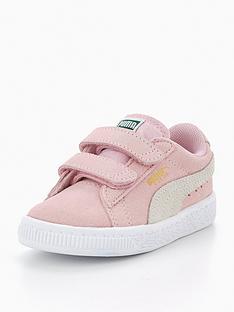 puma-suede-2-straps-infant-trainer