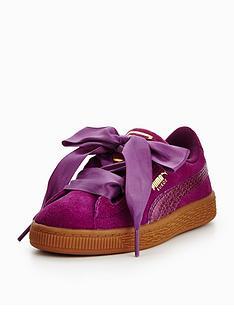 puma-younger-girls-suede-heart-sneaker-purple