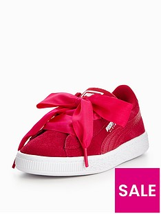 puma-young-girls-suede-heart-sneaker-pink