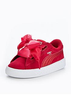 puma-younger-girls-suede-heart-sneaker-pink