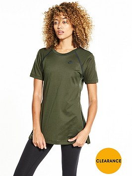 nike-sportswear-bonded-short-sleeved-top-khakinbsp