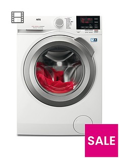 AEG L6FBG142R 6000 Series 10kg Load, 1400 Spin Washing Machine - White