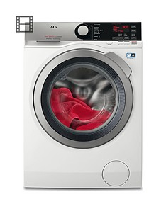 AEG L7FEE845R 7000 Series 8kg Load, 1400 Spin Washing Machine - White