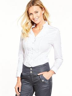 joe-browns-ruffle-blouse-white