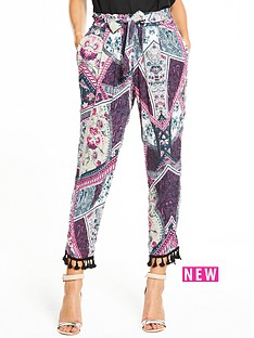 river-island-printed-tapered-trouser