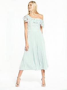 coast-melinda-pleated-lace-jumpsuit