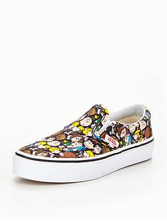 vans-vans-peanuts-classic-slip-on-childrens-trainer