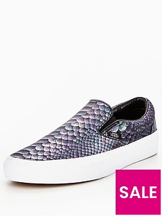 vans-classic-slip-on-metallic-snake