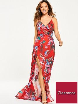 myleene-klass-tropical-ruffle-front-maxi-dress