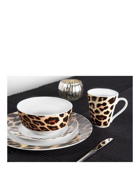 sc 1 st  Very & Sabichi Leopard 24-Piece Dinner Set   very.co.uk