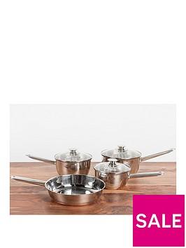 sabichi-copper-base-4-piece-pan-set