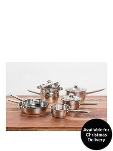 sabichi-copper-base-7-piece-pan-set