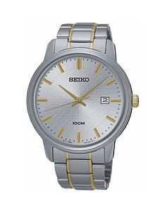 seiko-seiko-gents-silver-dial-two-tone-quartz-bracelet-watch