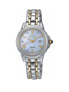 seiko-diamond-dial-two-tone-solar-bracelet-ladies-watch