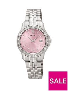 seiko-pink-dial-stainless-steel-quartz-bracelet-ladies-watch