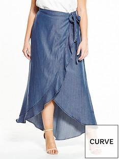 v-by-very-curve-tencel-wrap-maxi-skirt