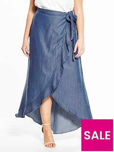 v-by-very-curve-tencel-wrap-maxi-skirt