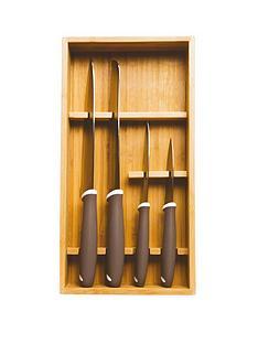 prestige-4-piece-knife-set-with-bamboo-storage-tray