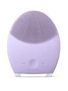 foreo-luna-2-facial-cleansing-brush-for-sensitive-skinnbspamp-free-foreo-cosmetic-pouch