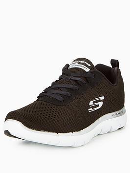skechers-flex-appeal-20-break-free-lace-up-trainer-black