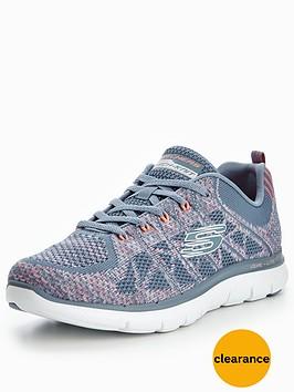 skechers-skechers-flex-appeal-20-new-gem-lace-up-trainer