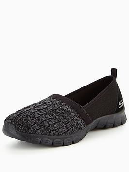 skechers-ez-flex-30-snugbug-slip-on-shoe-black