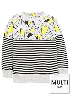 mini-v-by-very-print-contrast-single-sweat