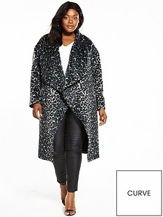 v-by-very-curve-formal-coat--nbspanimal-print