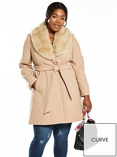 v-by-very-curve-faux-fur-collar-wrap-coat-camel