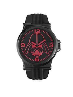star-wars-star-wars-black-rubber-strap-red-darth-vader-face-mens-watch