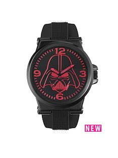 star-wars-star-wars-black-rubber-strap-red-darth-vader-face-mens-watch