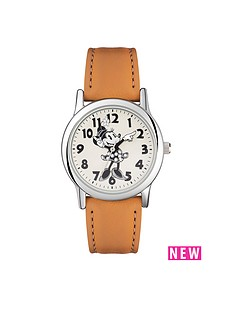 minnie-mouse-minnie-mouse-crystal-stone-dial-tan-leather-strap-ladies-watch