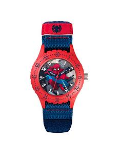 spiderman-fabric-kids-watch