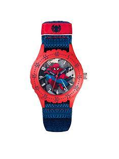 spiderman-fabric-kids-watch