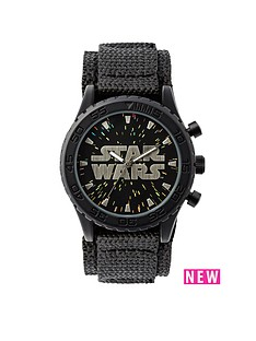 star-wars-black-velcro-strap-kids-watch