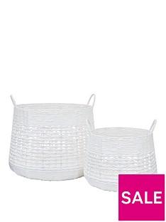 white-paper-crochet-set-of-2-belly-storage-baskets