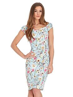 joe-browns-flattering-fabulous-floral-dress-blue