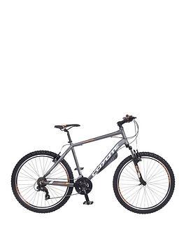 Image of Coyote Lakota 21 Speed Mens Mountain Bike 18 inch Frame, Black, Men