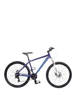 Image of Coyote Shasta 24 Speed Mens Bike 18 inch Frame, Blue, Men