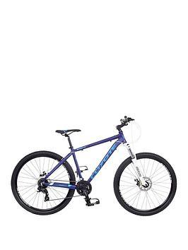 Image of Coyote Shasta 24 Speed Mens Bike 20 inch Frame, Blue, Men