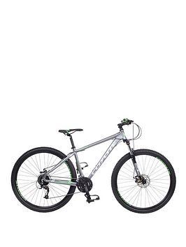 Image of Coyote Yakama 27-Speed Mens Mountain Bike 17 inch Frame, Grey, Men