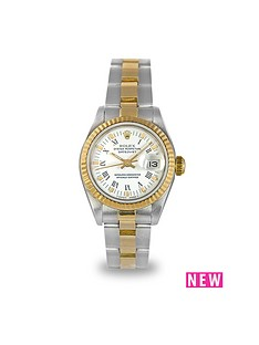 rolex-rolex-preowned-datejust-white-roman-numeral-dial-ladies-watch-ref-69173
