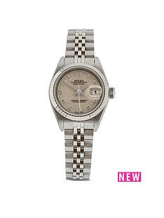 rolex-rolex-preowned-datejust-off-white-jubilee-araboc-dial-stainless-steel-bracelet-ladies-watch-ref-69174