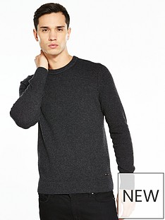 boss-orange-wool-crew-neck-jumper
