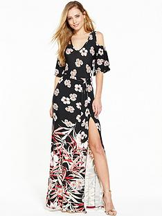 v-by-very-cold-shoulder-tie-belt-maxi-dress